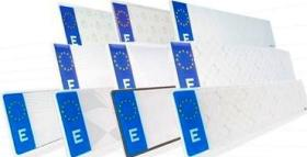 Matrículas europeas (metálicas)