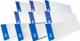 Placas matrículas acrílicas  Matrículas europeas (acrílicas)
